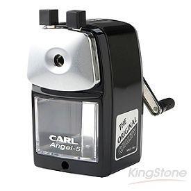 【CARL】鐵製復古削筆機-黑色(A-5)