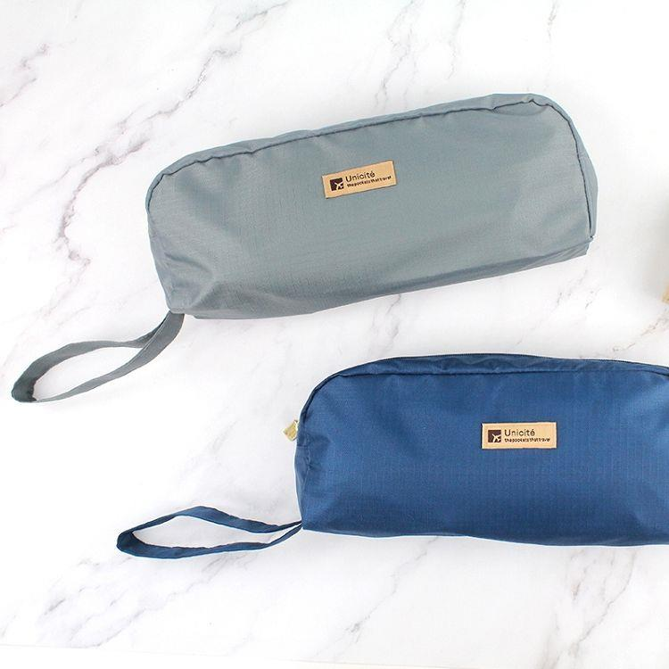 Unicite簡易型收納鞋袋-02藍