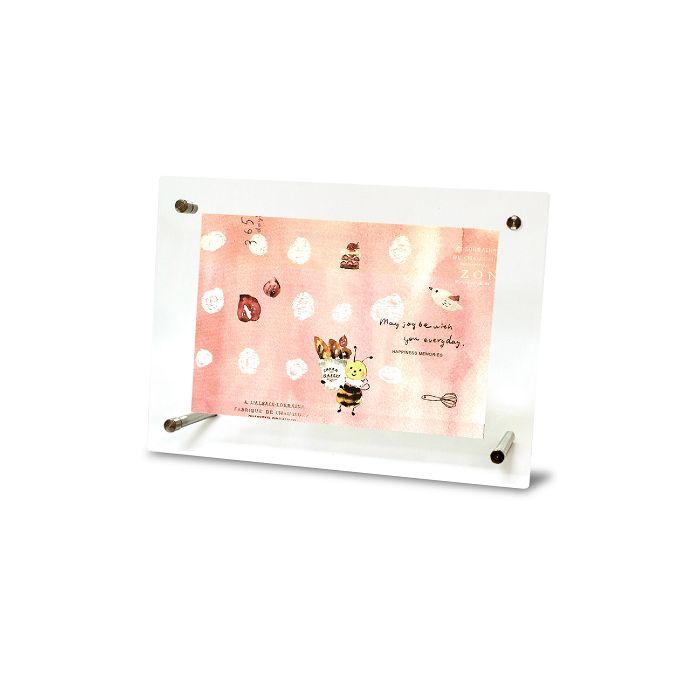 【柏格文具】zakka橫式壓克力相框-蜜蜂