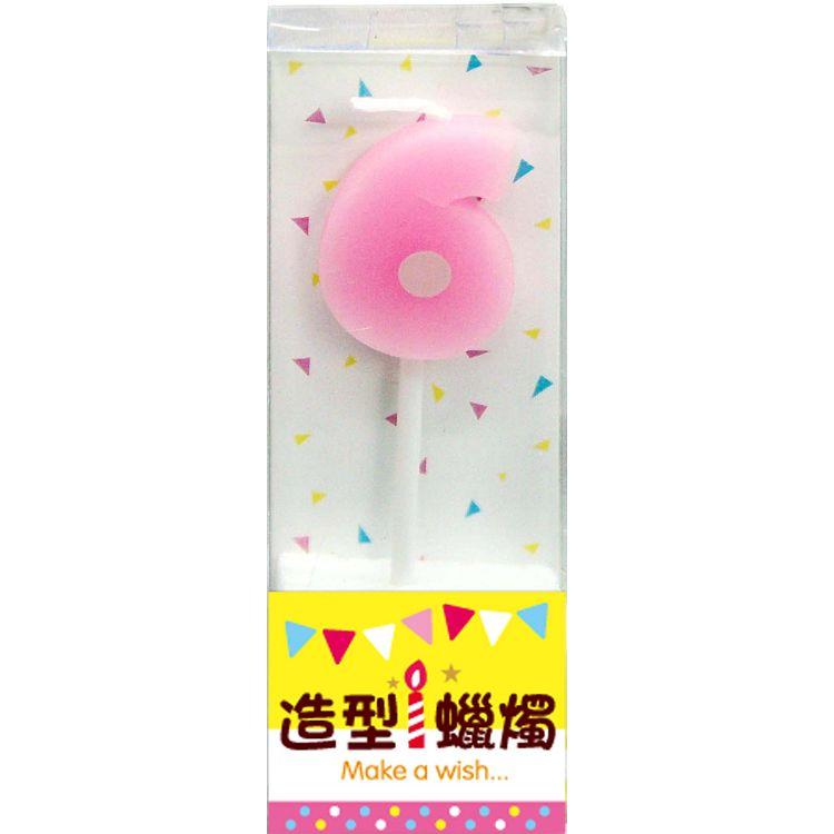 【四季】數字造型小蠟燭-6