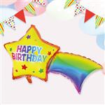 派對佈置-鋁箔生日流星氣球
