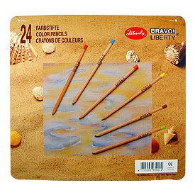 【利百代】香杉原木色鉛筆24色