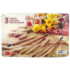 【利百代】原木印花色鉛筆-36色