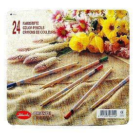 【利百代】原木印花色鉛筆-24色