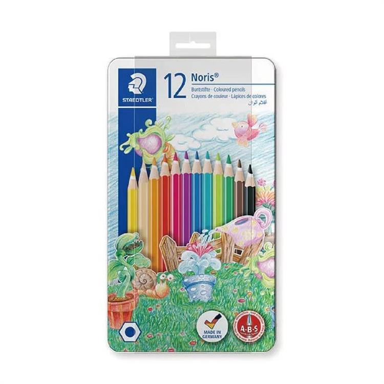 【施德樓】快樂學園油性色鉛筆-12色(動物篇)
