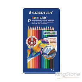 【施德樓】快樂學園水彩色鉛筆-12色