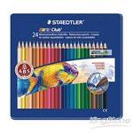 【施德樓】快樂學園水彩色鉛筆-24色