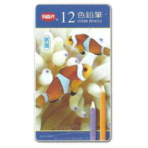 【利百代】小丑魚抗菌色鉛筆12色