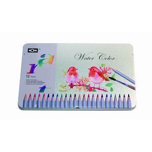 【MONA】70506水溶色鉛筆(12色/盒)