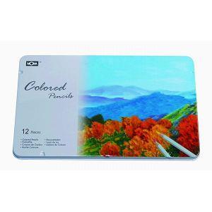 【MONA】80507油性色鉛筆(12色/盒)