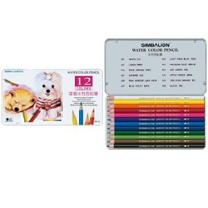 雄獅12色水彩色鉛筆