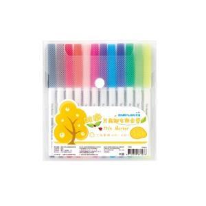 雄獅三角細枝彩色筆12色