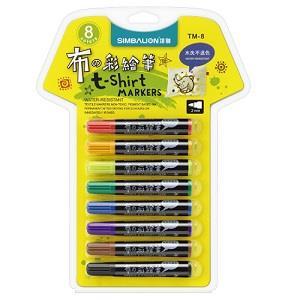 雄獅粗字布彩繪筆8色組
