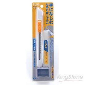 【PLUS】美工刀-白色(CU001N)