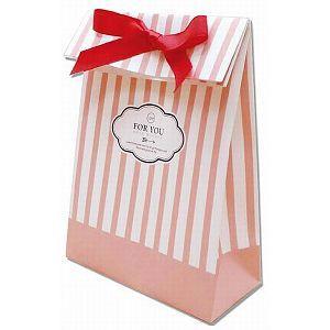 【青青文具】簡單生活--DIY幾何線條(粉紅)禮物紙袋