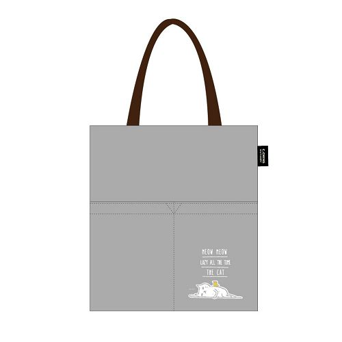 【青青】簡單生活-喵Meow側背包-灰