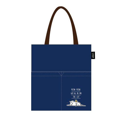 【青青】簡單生活-喵Meow側背包-藍
