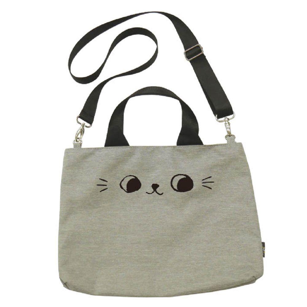 O-cat可愛貓耳潮流托特包-灰
