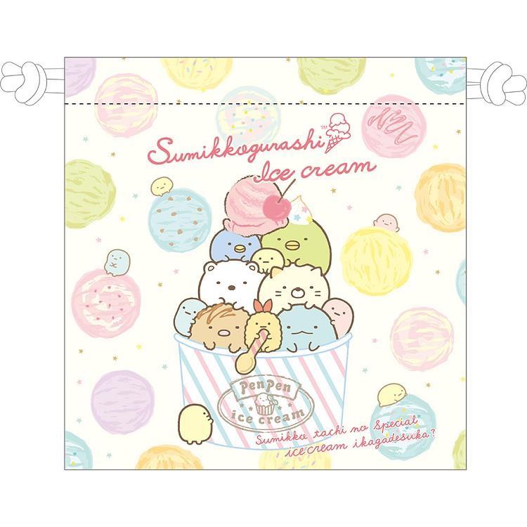 小夥伴束口袋A-冰淇淋