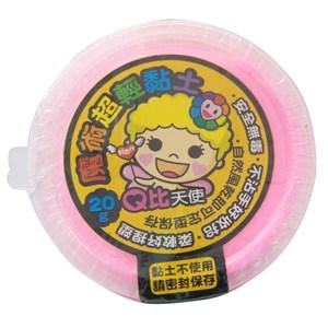 利百代Q比魔術超輕黏土20g-粉紅