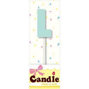 文字造型小蠟燭-L