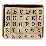 《Micia》英文字母-30入印章組 ALP13