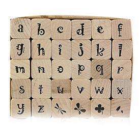 《Micia》英文字母-30入印章組 ALP18