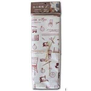油蠟材質郵報包裝紙(咖啡)