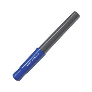 百樂微笑鋼筆黑桿F-藍