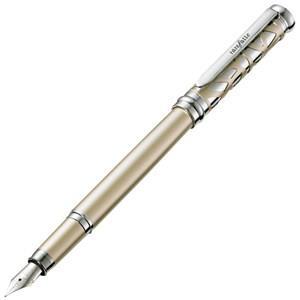 芮菲客1800巴洛克香檳金鋼筆M尖