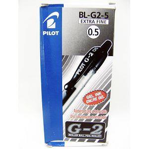 盒裝-百樂(B)G-2中性筆0.5 黑
