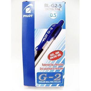 盒裝-百樂(L)G-2中性筆0.5 藍