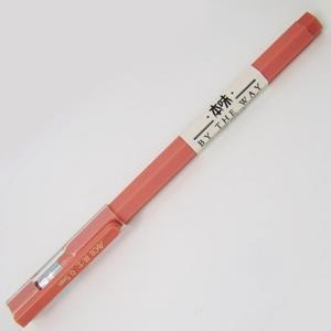英士J-404極細六角桿0.5中性筆-紅
