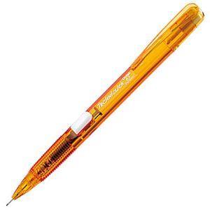Pentel PD105C側壓果凍自動鉛筆0.5-橘桿