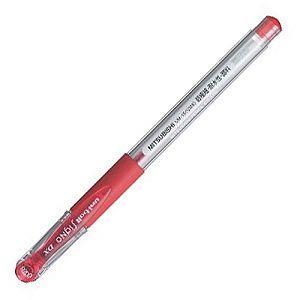 【uni】三菱0.28超極細中性筆-紅UM-151(UMR-1替芯適用)