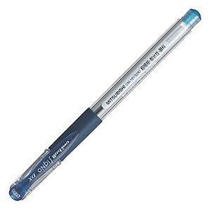 【uni】三菱0.28超極細中性筆-深藍UM-151(UMR-1替芯適用)
