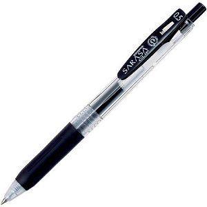 【ZEBRA】斑馬SARASA CLIP環保鋼珠筆0.5-黑 (JJ15適用JF-0.5筆芯)