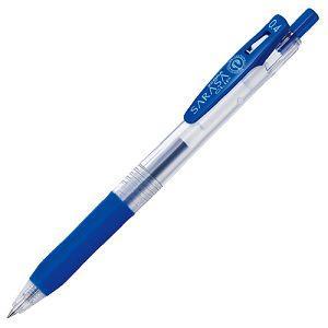 【ZEBRA】斑馬SARASA CLIP環保鋼珠筆0.4-藍 (JJS15適用JF-0.4筆芯)