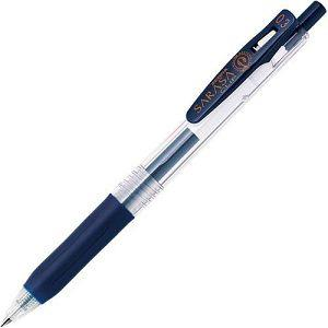 【ZEBRA】斑馬SARASA CLIP環保鋼珠筆0.3-深藍 (JJH15適用JF-0.3筆芯)