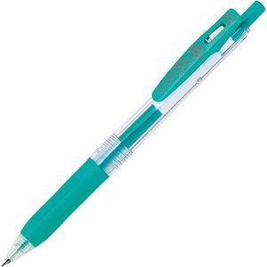 【ZEBRA】斑馬SARASA CLIP環保鋼珠筆0.3-藍綠 (JJH15適用JF-0.3筆芯)