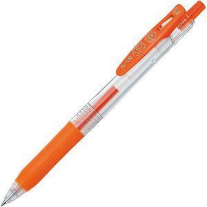 【ZEBRA】斑馬SARASA CLIP環保鋼珠筆0.4-紅橘 (JJS15適用JF-0.4筆芯)
