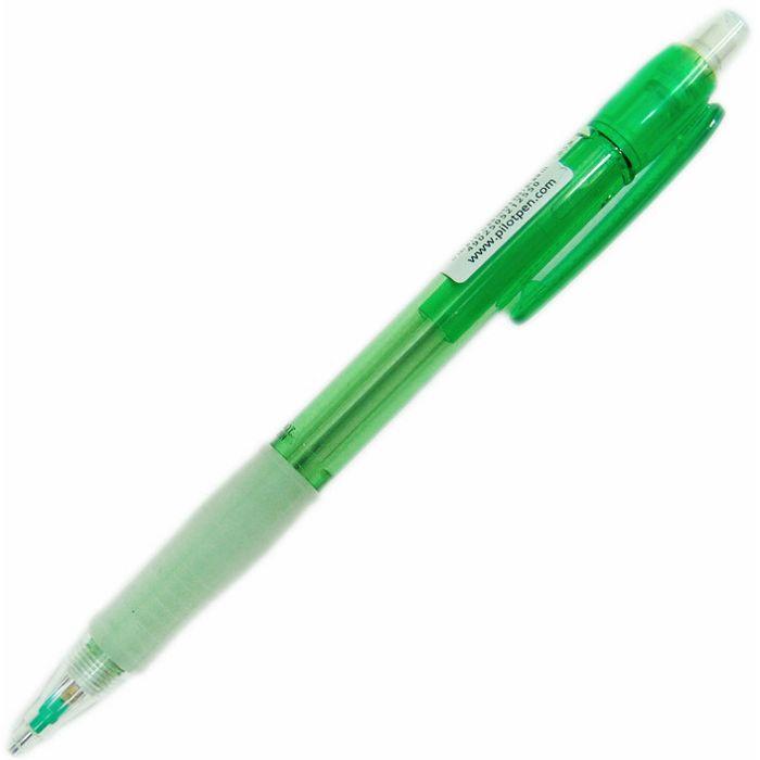【百樂】透明七彩自動鉛筆0.5-綠 H-185N