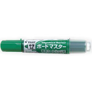 【PILOT】百樂卡式白板筆中字 (綠)