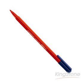 【施德樓】三角書寫彩繪筆-紅