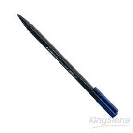 【施德樓】三角書寫彩繪筆-黑
