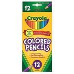 Crayola繪兒樂 彩色鉛筆長款12色