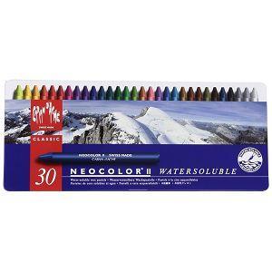 CARAN d`ACHE NEOCOLOR II專業水溶性蠟筆30色