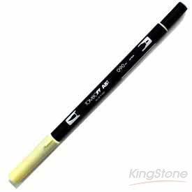 【TOMBOW】雙頭彩色毛筆-baby yellow