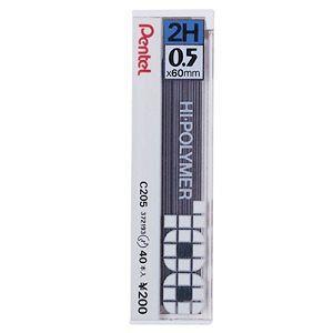 Pentel C205自動鉛筆芯0.5-2H