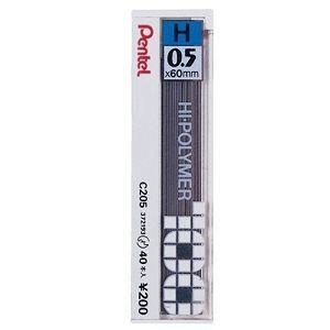 Pentel C205自動鉛筆芯0.5-H